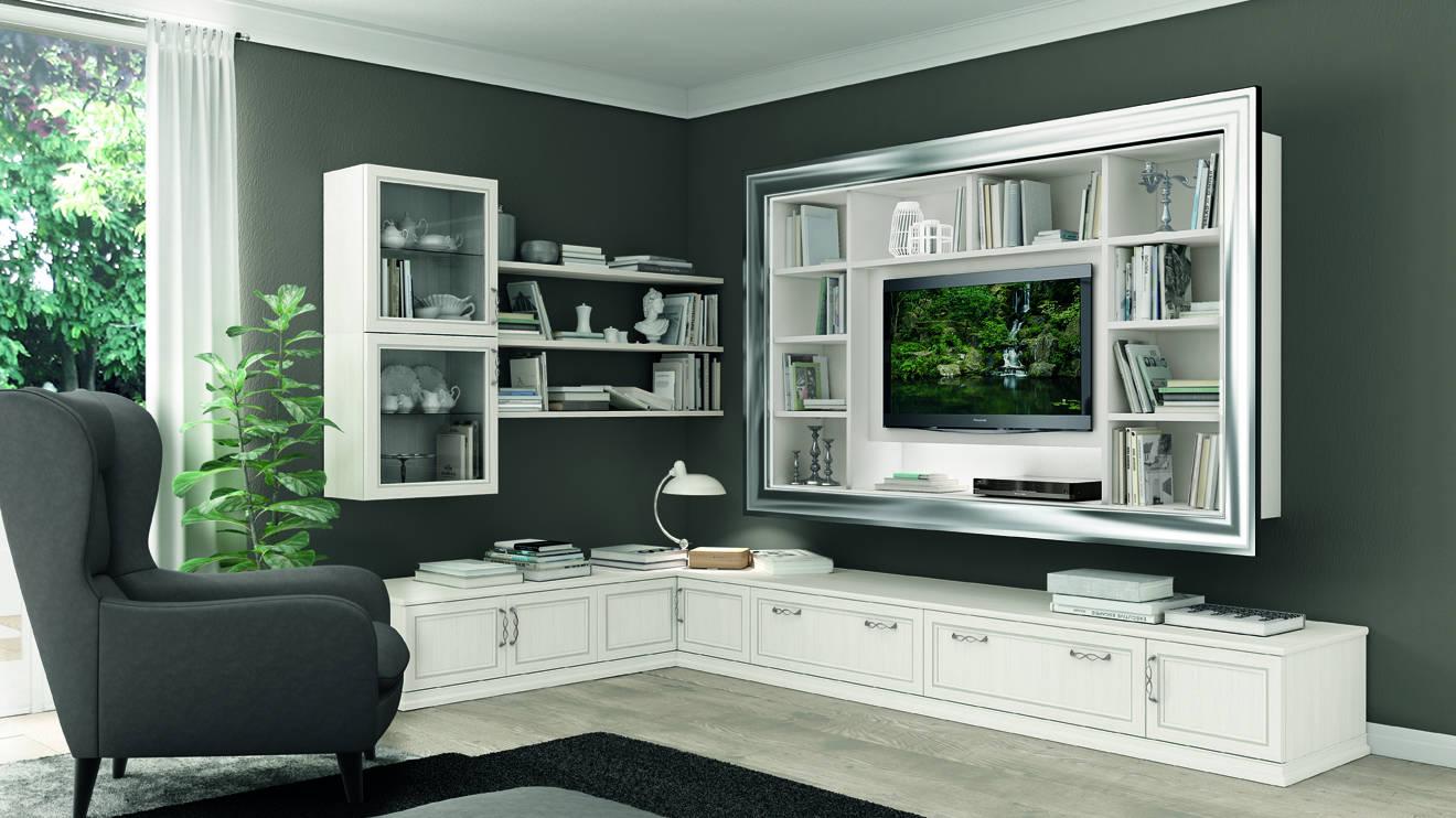Mobili soggiorno moderni economici simple parete for Asselle arredamenti