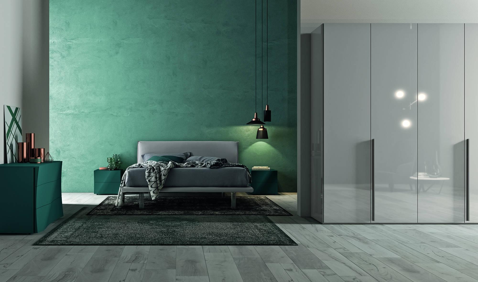 Camere da letto quarrata arredamenti michelozzi - Disposizione mobili camera da letto ...