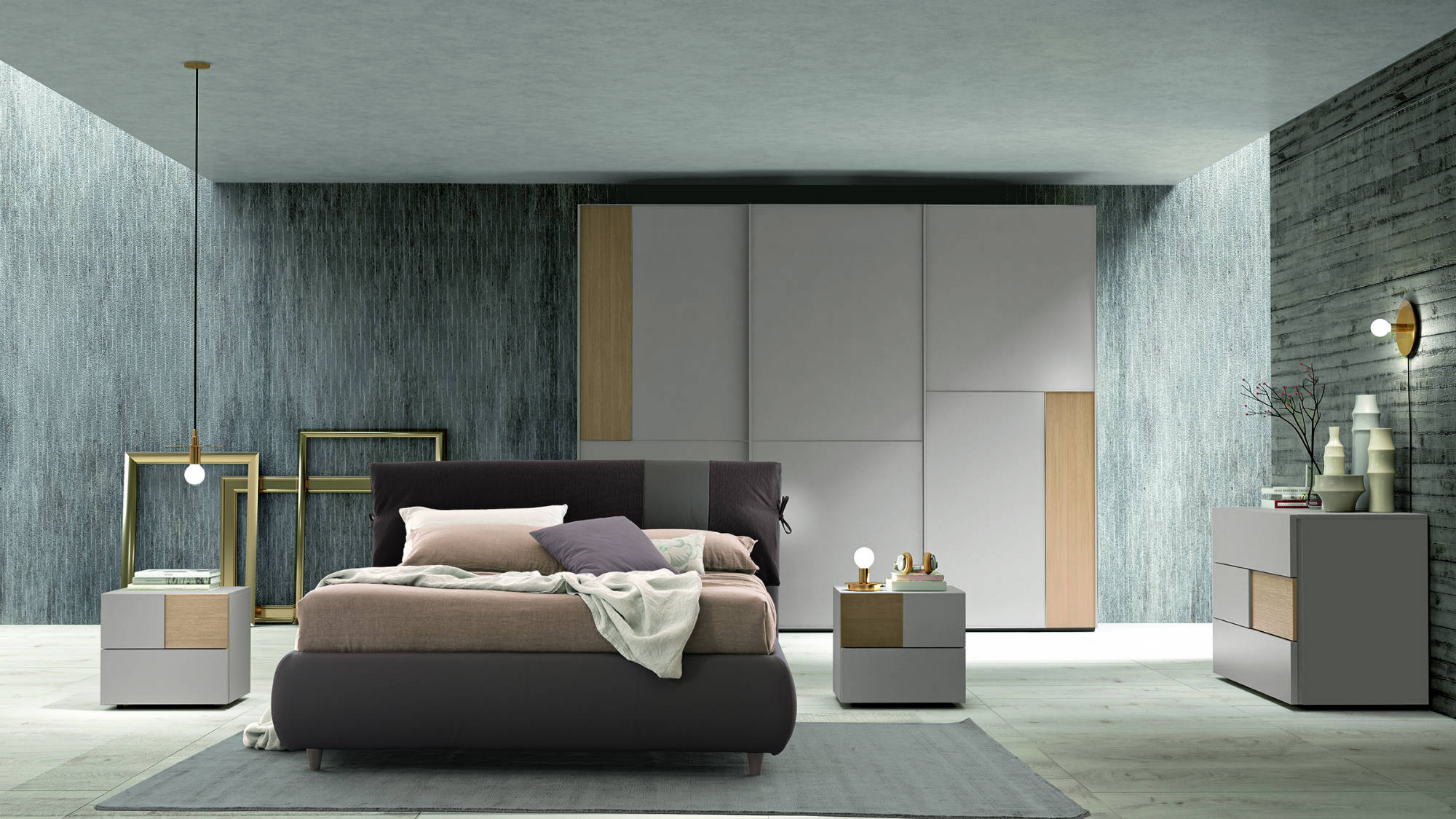 Camere da letto quarrata arredamenti michelozzi for Camere matrimoniali complete