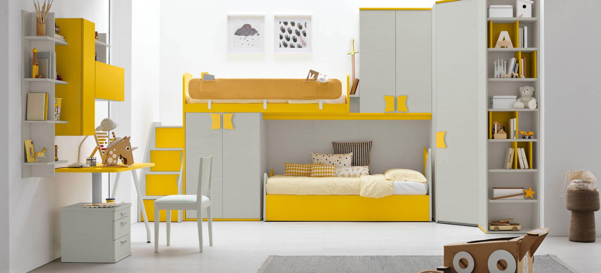 Offerte camere da letto bambini design for Camere x ragazzi offerte